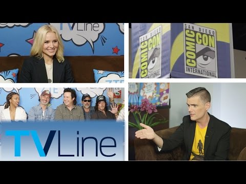 Comic-Con 2016 Outtakes & Highlights | TVLine Studio Presented by ZTE
