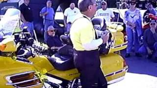 Riding a Goldwing on gravel