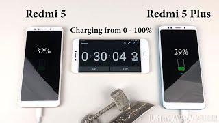 Redmi 5 and Redmi 5 Plus Battery Test