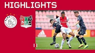 Highlights | Ajax O17 - NEC O17 | Competitie