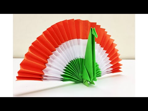 Diy Paper Peacock Origami Peacock Diy Independence Day Decor