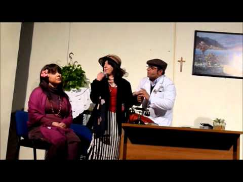 """Scene della commedia di Ezio Iovino """" La boccetta di Limonen"""
