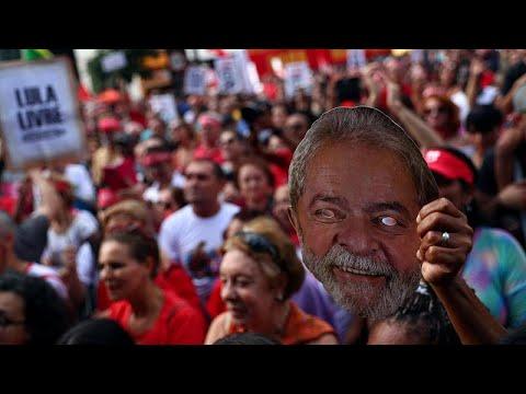 Διαδηλώσεις για τον Λούλα Ντα Σίλβα