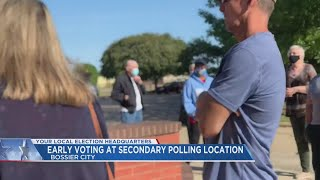 Early voting starts in Louisiana, families are voting together