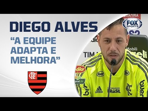 FLAMENGO AO VIVO! Diego Alves fala direto do Ninho do Urubu em coletiva