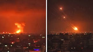 video: Palestinians killed in Israeli strikes on Gaza militant targets