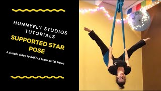 Aerial Hammock Tutorial for Supported Starfish (or Star)