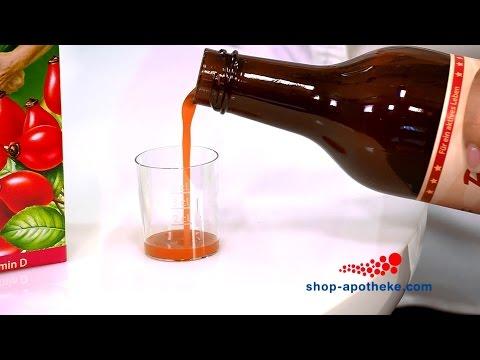 Behandlung der Rückseite mit ätherischen Ölen