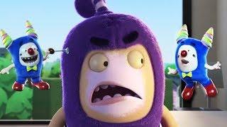Oddbods Full Episode - Oddbods Full Movie   The Clown Off   Funny Cartoons For Kids