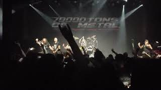 "Accept ""Pandemic"" Live 70.000 Tons of Metal 2019"