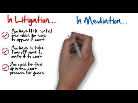 Mediation vs. Litigation