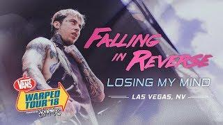 "Falling In Reverse   ""Losing My Mind"" LIVE! Vans Warped Tour 2018"