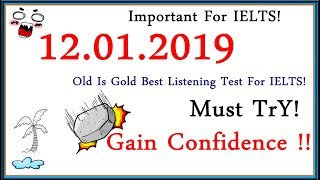 IELTS LISTENING PRACTICE TEST 2018 WITH ANSWERS | 12.01.2019