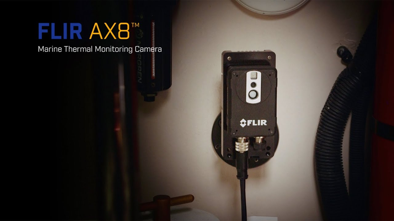 Flir Ax8 Marine Thermal Monitoring System Systems Raymarine Microphone Wiring Diagram State Of The Art Critical Equipment Onboard
