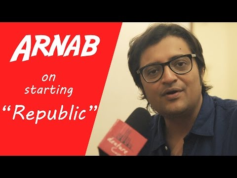 Arnab Goswami On His Upcoming News Channel REPUBLIC | Startup Advice By Arnab Goswami | Interview