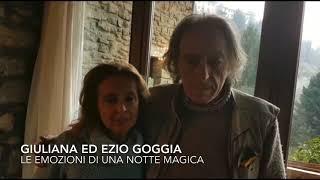 La gioia di Giuliana ed Ezio Goggia, mamma e papà dell'oro olimpico Sofia