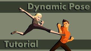How To Create A Dynamic Pose (Maya 2019)