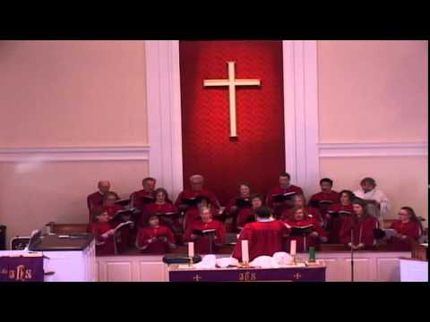 10 CUMC Easter Cantata   BEAUTIFUL SAVIOUR from Tenebrae