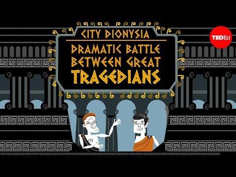 A batalha das tragédias gregas