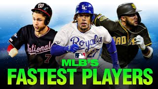 MLB's Fastest Players! (The players who can fly around the diamond)