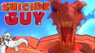 """Suicide Guy Gameplay - """"DEATH BY...ANGRY DRAGON?!?""""  - Let"""
