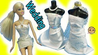 Barbie Doll Wedding Dress Designer Maker Playset + Bridal Runway Fashion Show
