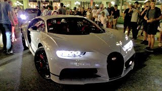 In 30 Minutes time $9Million in BUGATTI CHIRONS showed up at the Monaco Casino!