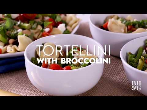 Tortellini with Broccolini | Fast & Fresh | Better Homes & Gardens