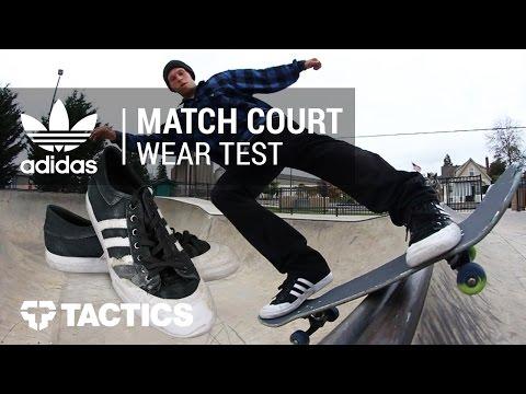 Adidas Matchcourt Skate Shoes Wear Test Review – Tactics.com