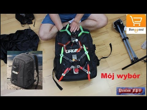 URUAV UR7. This is one of the best choices backpacks for RC and FPV.