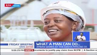What a Man can do...Rosaline Ambasi is an electrical engineer in the male dominated field