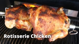 Rotisserie Chicken on the Napoleon Gas Grill   Rotisserie Chicken Recipe with Malcom Reed