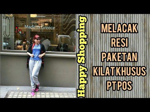 CARA MELACAK RESI via PT.POS INDONESIA