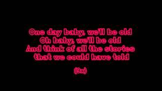 Asaf Avidan - One day / Reckoning Song (Wankelmut Remix) + LYRICS