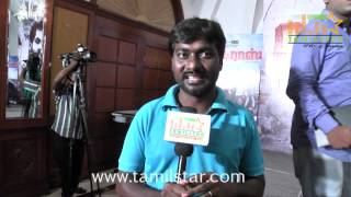 Cinematographer G  Murali at Madras Movie Success Meet