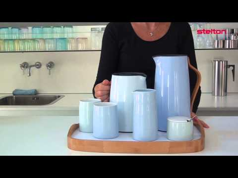 Youtube-Video about the Emma tea vacuum jug from Stelton