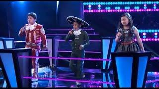 La Voz Kids | Angel, Mónica y Jesús cantan 'Guantanamera' en La Voz Kids