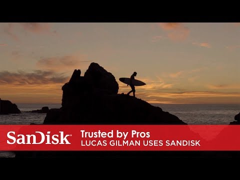 Lucas Gilman uses SanDisk® Extreme 510 portable SSD