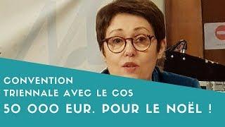 Convention COS : Mireille Alphonse au Conseil Municipal du 28 mars 2018
