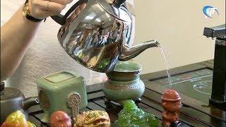 В рамках гурмэ-фестиваля новгородцев пригласили на чаепитие