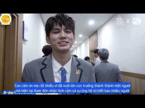 [Vietsub] B-day Wanna One | Ong Seong Woo