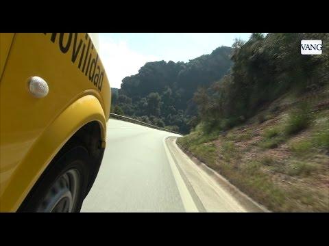 La peor carretera de Catalunya la BV-2041 entre Gavà y Begues