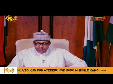 President Buhari Addresses The Nation Ahead Of The General Election