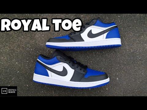Air Jordan 1 Low 'Royal Toe' | Detailed Look