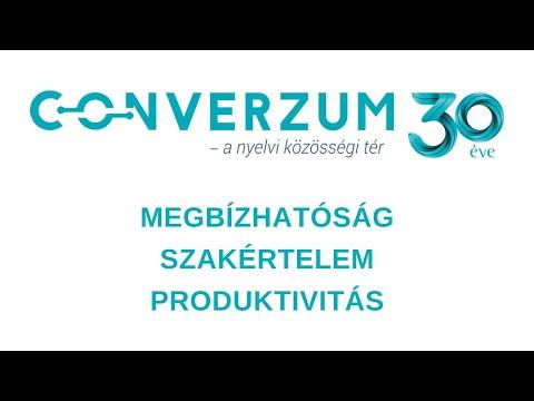 Converzum - a nyelvi közösségi tér  - 30 évesek lettünk!