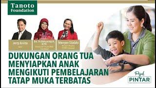 Dengan diberlakukannya PTM (pembelajaran tatap muka) terbatas di sekolah-sekolah Indonesia, orangtua wajib memahami apa saja yang perlu dipersiapkan agar anak-anak dapat bersekolah dengan aman dan nyaman. Dari bekerja sama dengan guru di sekolah hingga memastikan komunikasi dengan anak selalu lancar, persiapan menyeluruh akan memastikan jalannya PTM yang optimal. Untuk tahu lebih lanjut, simak episode Pojok […]