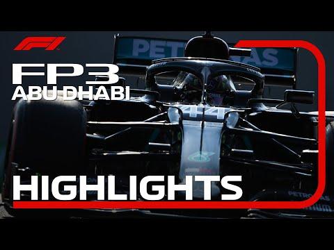 F1 第17戦アブダビGP FP3ハイライト動画