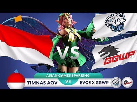 TIMNAS AOV VS EVOS X GGWP - Asian Games Sparring