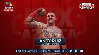 Conferencia de Prensa   Andy Ruiz Jr.