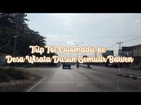 Trip Tol Colomadu ke Desa Wisata Dusun Semilir Bawen